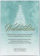 Weihnachtskarten Firmen (10 Karten) selbst