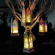 Weihnachtskerze mit Tee licht Kerzen für
