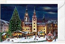 Weihnachtsklappkarte Chemnitz
