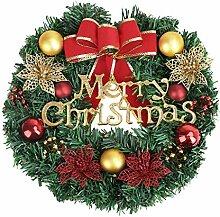 Weihnachtskranz Weihnachtsgirlande-Ø 30cm,