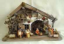 Weihnachtskrippe Moorsbrunn inkl. Figurensatz