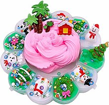 Weihnachtskristall-Schlammspielzeug, ungiftiges