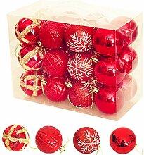 Weihnachtskugel, bemalte Weihnachtskugel Deko