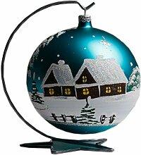 Christbaumkugeln Türkis Glas.Christbaumkugeln Türkis In Vielen Designs Online Kaufen Lionshome