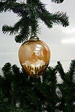 Weihnachtskugel Christbaumkugel aus Glas XL