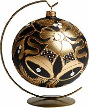 Weihnachtskugel Christbaumkugel handbemalt