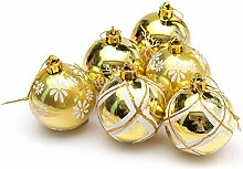 Weihnachtskugeln glänzend glitzernd