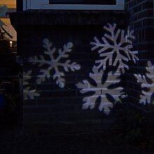 Weihnachtslicht Schneesturm Projektor-Lampe LED