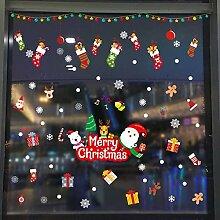 Weihnachtsmann 27pcs Weihnachtsschneeflo