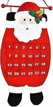 Weihnachtsmann Adventskalender LUOEM