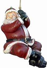 Weihnachtsmann am Seil - Weihnachtsfiguren - WN025