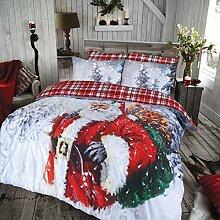 Weihnachtsmann Bettwäsche Set von Pieridae