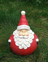Weihnachtsmann dick Figur Weihnachten Dekofigur Figur