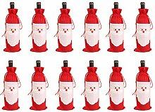 Weihnachtsmann Flaschenhülle für Weihnachten,