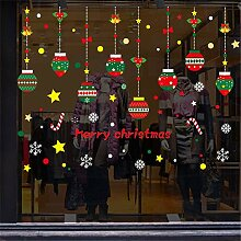 Weihnachtsmann Frohe Weihnachten Aufkleber