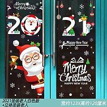 Weihnachtsmann Glas Weihnachtsschmuck Fenster