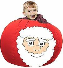 Weihnachtsmann-Sitzsack-Small