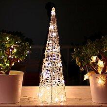 Weihnachtspyramide 60cm LED Pyramide Warmweiß