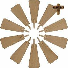 Weihnachtspyramide Flügelrad für
