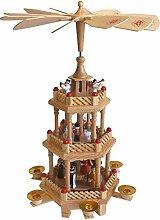 Weihnachtspyramide Holzpyramide Pyramide für 6