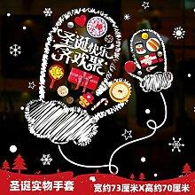 Weihnachtsschmuck Kinder Aufkleber Schneeflocke