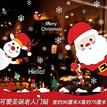 Weihnachtsschmuck, Shop Layout, Fensteraufkleber, H