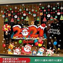 Weihnachtsschmuck Weihnachtsbaum Glastür