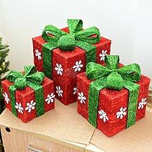 Weihnachtsschmuck Weihnachtsseide Draht