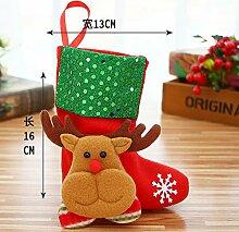 Weihnachtssocke Geschenkbeutel Kinder