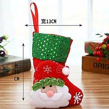 Weihnachtssocke Geschenktüte Kinder Bonbontüte