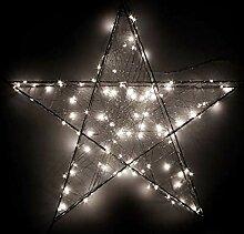 Weihnachtsstern 120 LED Außen 58 cm/Dekoration,