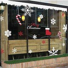 Weihnachtsstrümpfe, Wandaufkleber, Aufkleber,
