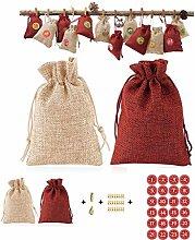 Weihnachtssüten Papier 24 Stück/Set Weihnachten