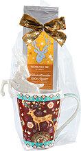 Weihnachtstasse mit Rooibos Tee Weihnachtszauber