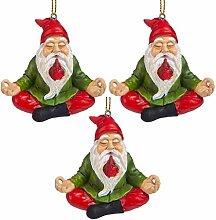 Weihnachtsverzierung - Gartenzwerge Figur - Zen