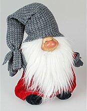 Weihnachtswichtel Türstopper Deko Wichtel Stoff Zwerg Gnom Troll Tür Puffer Sack