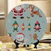Weihnachtszeichentrickfilm-figuren Antike