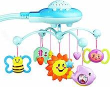 WEIHUIMEI 1 STÜCK Baby Musical Krippe Mobile mit