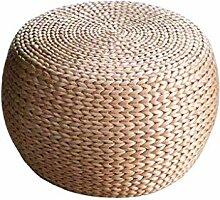 WEII Startseite Sofa Hocker Stroh Rattan Weave