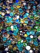 WEILAI Manuelles Glas Steinglas Marmor Dekorative