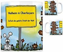 Weilheim in Oberbayern - Einfach die geilste Stadt