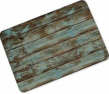 WEILIVE Indoor-Fußmatte Warehouse Holz