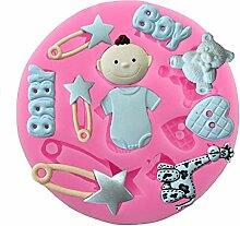 WeiMay. Baby Silikon Fondant Kuchen Form