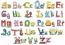 WeiMay. wandaufkleber Kind 26 Buchstaben Englisch