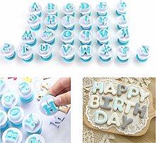 Weimeet Alphabet Buchstaben Fondant Kuchen Keks