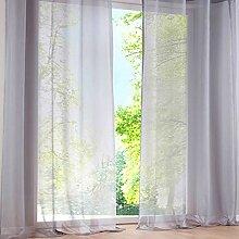 Weimilon 2 Voile Zu Transparent Fenster Balkon