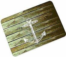 Weimilon Fussmatte Holz Optik Für Haustür Flur