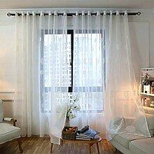 Weimilon Gardinen Transparent Mit 225X140 Lang