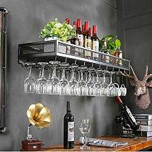 Wein Bar Bar Wein Glas Rack Hängen Weinglas Bar