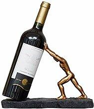 Wein-Dekor, Dekorativer Weinhalter - Einzelne